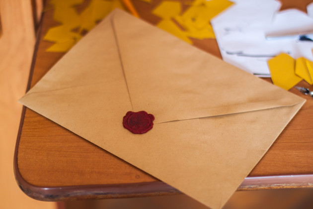 Image of a letter